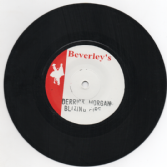 Derrick Morgan - Blazing Fire / version (Beverley's) JA 7""